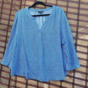Willi Smith Woman Sz 2X Blouse